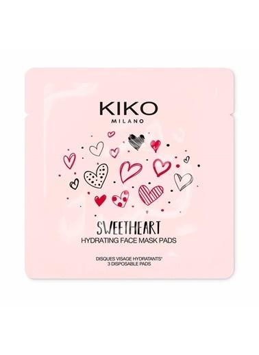 KIKO Milano KIKO MILANO SWEETHEART HYDRATING FACE MASK PADS - 001 Renksiz